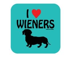 I Heart Wieners Coaster