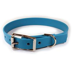 Blue Waterproof Dog Collars & Leads