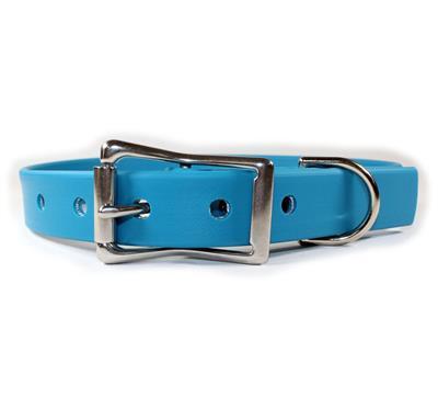 Blue Waterproof Dog Collars & Leads