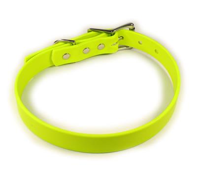 Yellow Waterproof Dog Collars & Leads