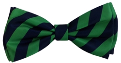 H&K Harvey Bow Tie - Green/Blue
