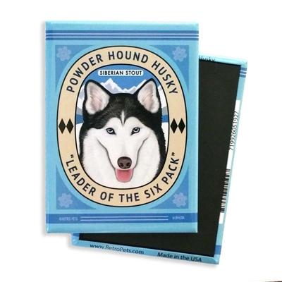Powder Hound Husky MAGNETS
