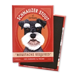 Schnauzer Stout MAGNETS