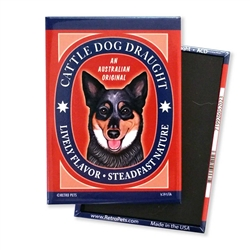 Cattle Dog Draught MAGNETS