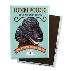 Potent Poodle MAGNETS