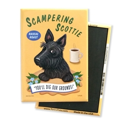 Scampering Scottie MAGNETS