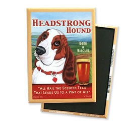 Headstrong Basset MAGNETS
