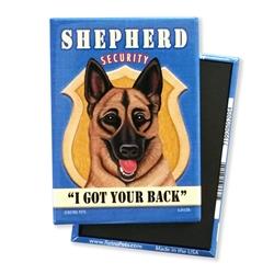 German Shepherd Security MAGNETS