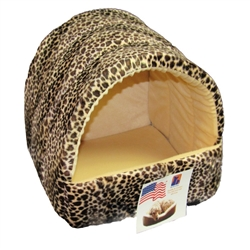 Pets 4 All Kitty Cave - Animal Print - Assorted