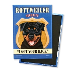 Rottweiler Security MAGNETS