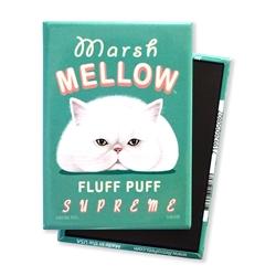Cat - Marsh Mellow MAGNETS