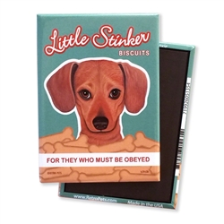 Little Stinker Doxie MAGNETS