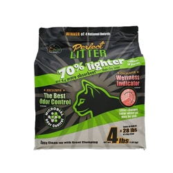 Lightweight - 4lb Perfect Litter w/ Wellness Indicator - Bag