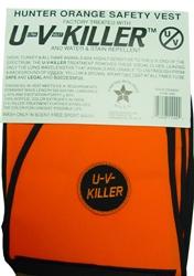 Atsko UV Killer Treated Blaze Orange Vest