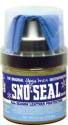Atsko Sno-Seal Original Beeswax Waterproofing with Applicator, 3.5-Fluid Ounce