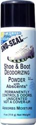 Atsko Sno-Seal Shoe and Boot Deodorizing Powder 4-Ounce Bottle