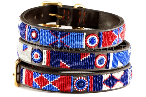 Red/White/Blue Collar & Leash Collection