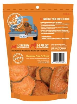 8oz. Sweet Potato Chews