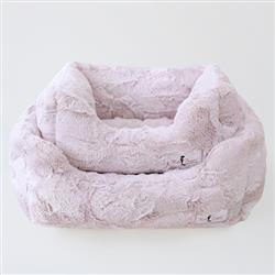Luxe Dog Bed: Blush