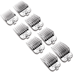 Andis Magnetic Chrome Attachment Combs