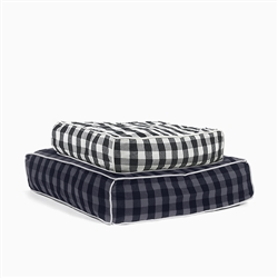 Buffalo Plaid Square Dog Bed