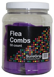 Suregrip Disposable Flea Combs 50 Pack