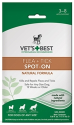 Flea + Tick Spot-On 0.6 oz