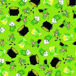Grooming Salon Bandanas 12 Pack - St. Patty's Day Party