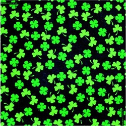 Grooming Salon Bandanas 12 Pack - Shamrocks