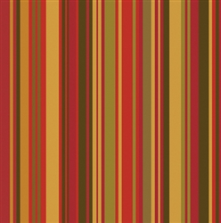 Grooming Salon Bandanas 12 Pack - Fall Stripes