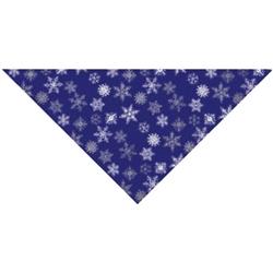 Grooming Salon Bandanas 12 Pack - Glitter Snowflakes