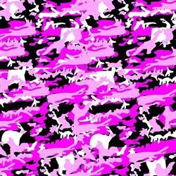Grooming Salon Bandanas 12 Pack - Pink Camo