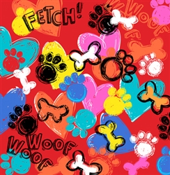 Grooming Salon Bandanas 12 Pack - Fetch