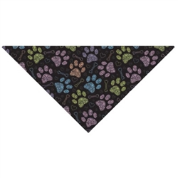 Grooming Salon Bandanas 12 Pack - Colorful Paws