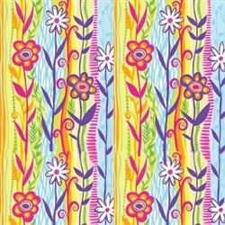Grooming Salon Bandanas 12 Pack - Spring Flowers