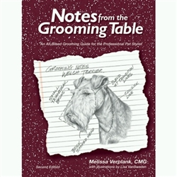 Notes From The Grooming Table Second Edition By Melissa Verplank
