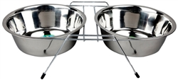 Advance Pet Products Double Diner Feeding Bowls