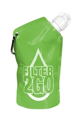 Filter 2GO Pocket Water Bottles (great for pets and people)