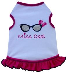 Miss Cool - Tank Dress - White