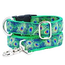 Paradise Found Navy Essential Collars and Leads