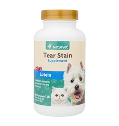 Tear Stain Plus Lutein Tablets -  60 Count