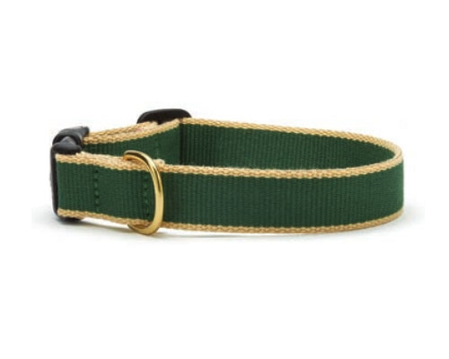 Forest and Tan - Green Market Collection Collars & Leads