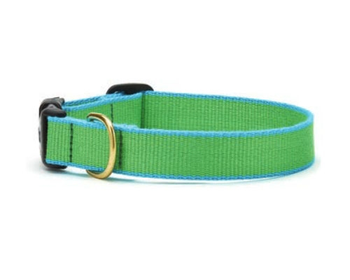 Lime and Aqua - Green Market Collection Collars & Leads
