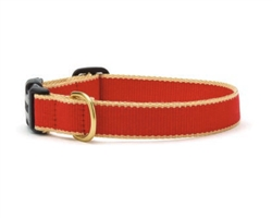 Red and Tan - Green Market Collection Collars & Leads