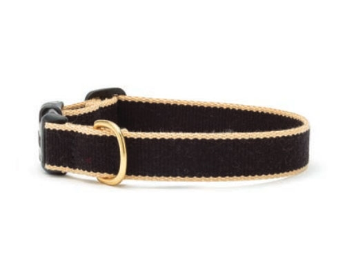 Black and Tan - Green Market Collection Collars & Leads