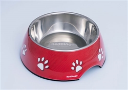 2-in-1 Melamine Bowl with Stainless Steel Insert