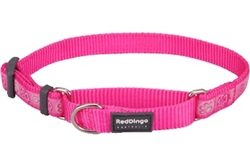 Paw Impressions Hot Pink - Martingale Collar