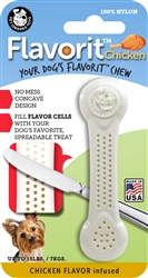 Small CHICKEN Flavorit Bone Nylon Chew