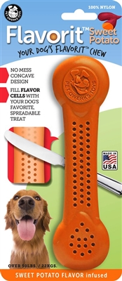 SWEET POTATO Infused Flavorit Bone Nylon Chews