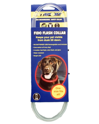 USB Rechargeable LED Safety Collar